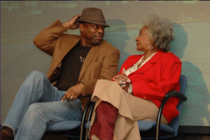 LeVar Burton and Nichelle Nichols at SF Ball 14