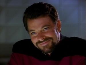 Smiling Riker