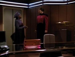 Guinan & Riker