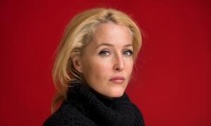 Gillian Anderson London By David Levene 29/1/15
